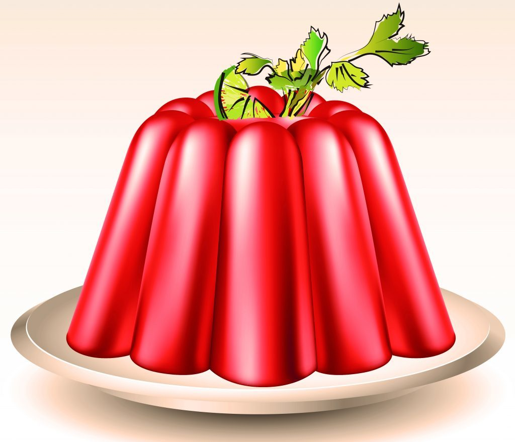 Bloody Mary Aspic