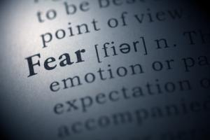 definition of the word Fear.