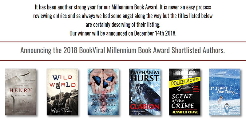 If It Ain't One Thing On The 2018 BookViral Award Short List